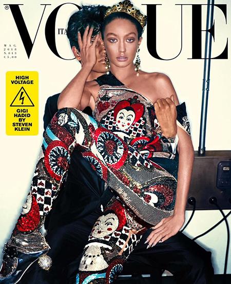 """Новый скандал с """"фотошопом"""": Джиджи Хадид изменили до неузнаваемости на обложке Vogue"""